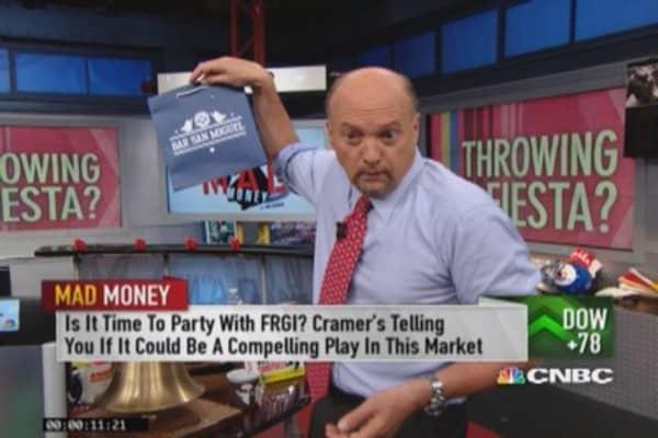 Throwing a Fiesta? Cramer focuses on FRGI