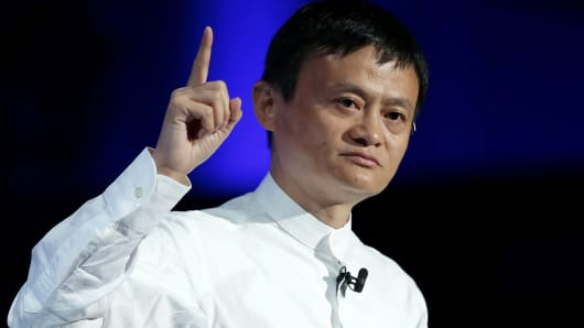 Jack Ma, Chairman of Alibaba Group Holding.