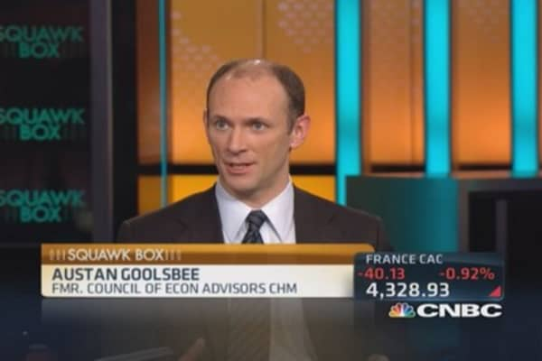 Goolsbee's economic outlook