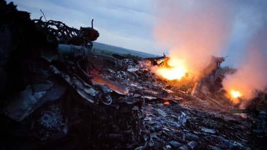 Plane Crash Ukraine
