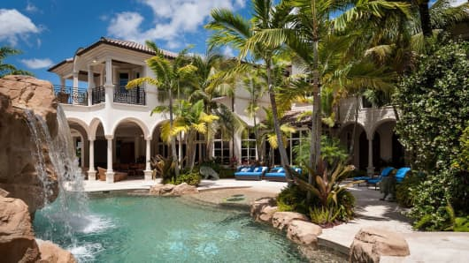 This 8-bedroom, 16-bath Boca Raton estate is currently on the market for $35M