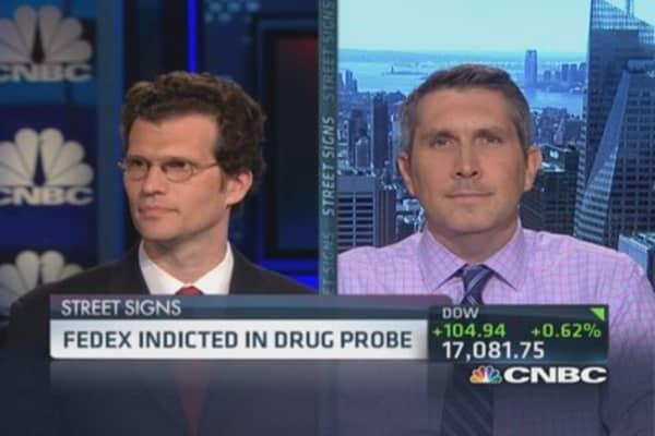 FedEx indicted in drug probe