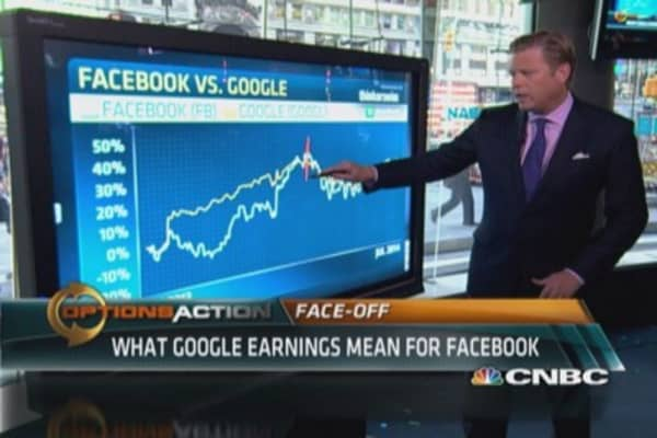 Why Facebook investors like Google earnings