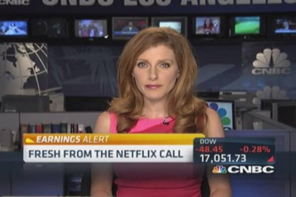Netflix: Tremendous adoption of on demand