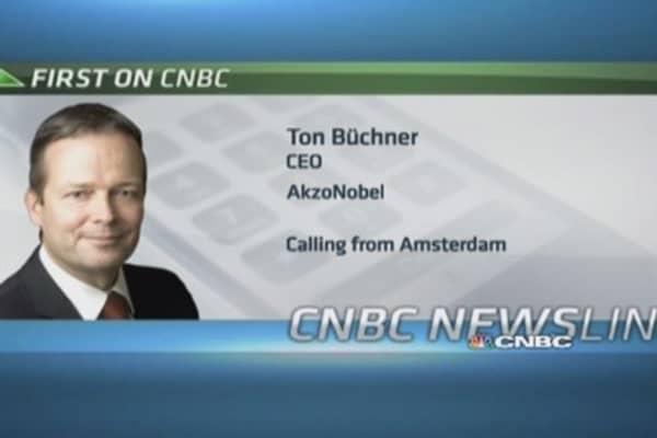 EM growth has dropped: AkzoNobel CEO