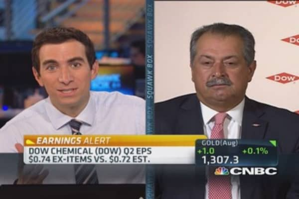 Dow CEO's point about Third Point