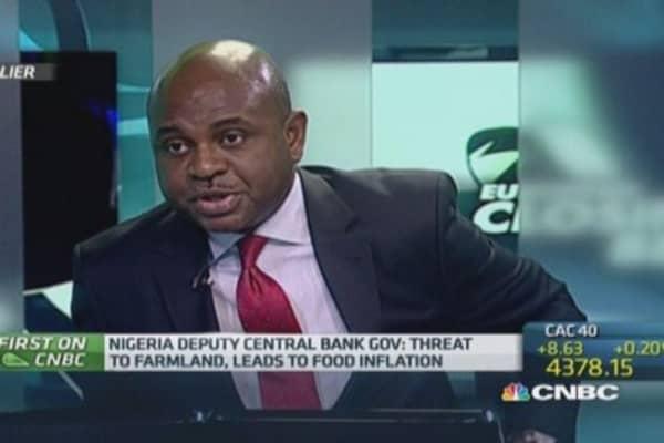 Nigerian monetary policy vs. terror