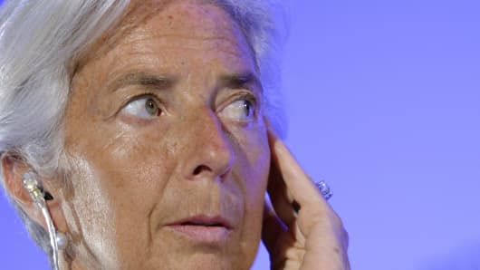 IMF Chief and French former minister Christine Lagarde