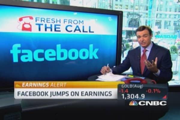 Facebook user engagement strong