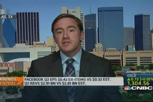 Here's the downside to Facebook Q2 earnings