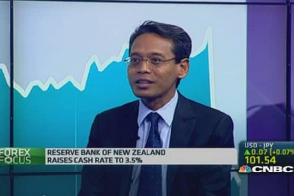 Likely that RBNZ will intervene in currency: Pro