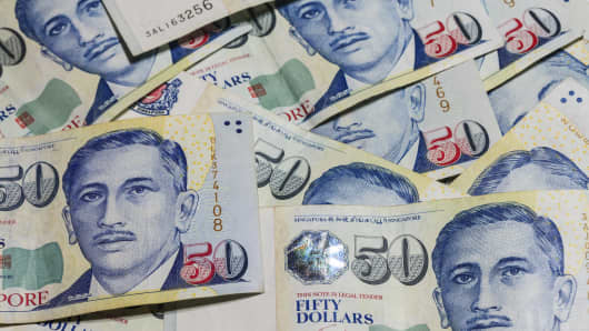 Premium Singapore dollars