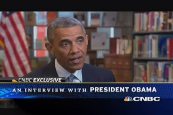 President Obama: The full interview