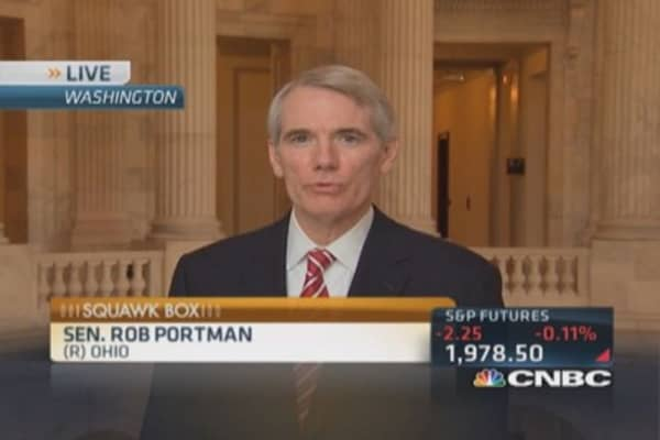 Sen. Portman: Political one-offs won't solve tax problem