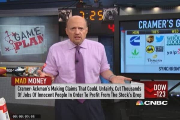 A lot more listening, a lot less buying: Cramer