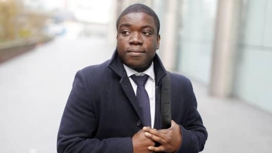 Kweku Adoboli, a former trader at UBS