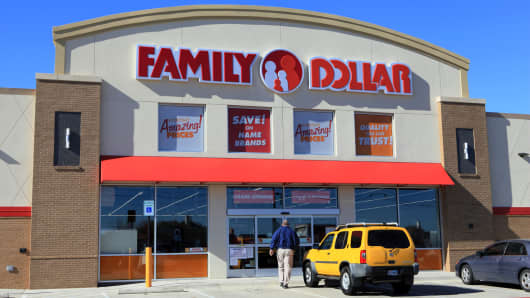 A Family Dollar Store in Mansfield, Texas.