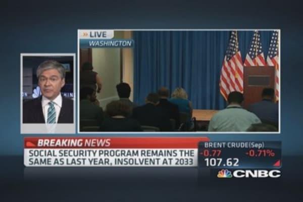 Social Security & Medicare Trustee Report