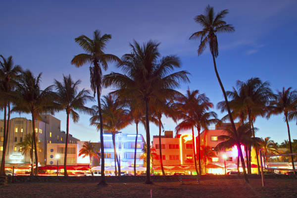 Miami Beach, Florida.