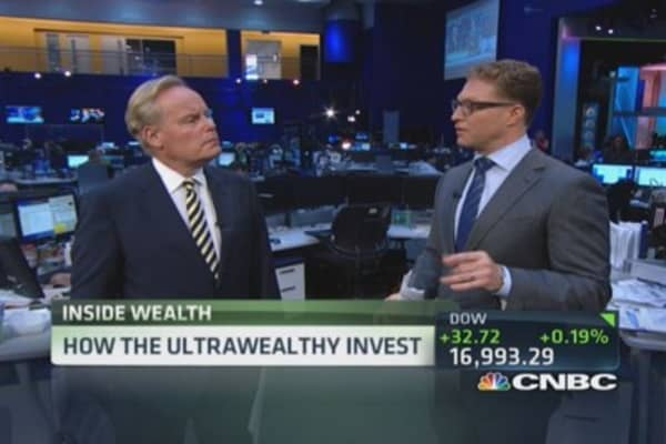 Millionaires boost private equity holdings