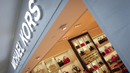 Michael Kors Holdings reports 4Q loss