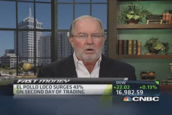 Gartman urges caution on El Pollo Loco