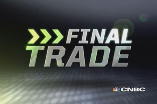 Fast Money Final Trade: EJ, RFMD, FSLR, EMN