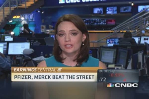 Merck & Pfizer beat the Street