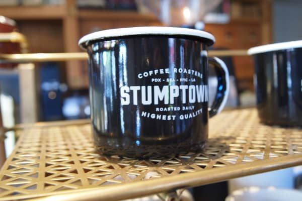 A mug from Stumptown Coffee