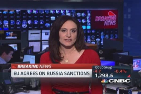 EU agrees on Russian sanctions: Report