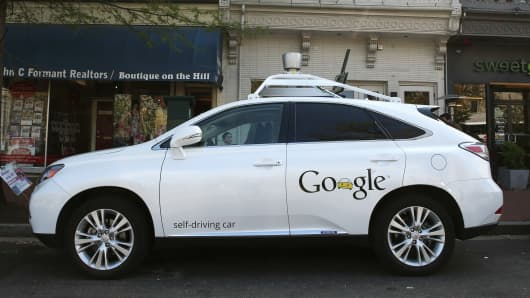 Google's Lexus RX 450H Self Driving Car