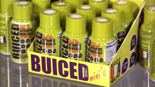 Buiced is manufactured in the U.S. and available on Buiced.com
