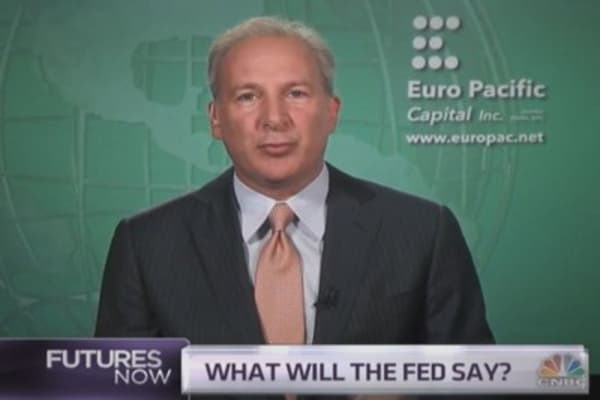 Peter Schiff: I've been right on gold