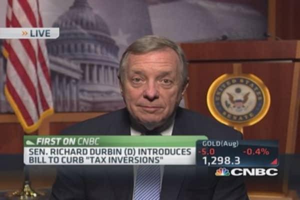 Senator introduces bill to curb tax inversions