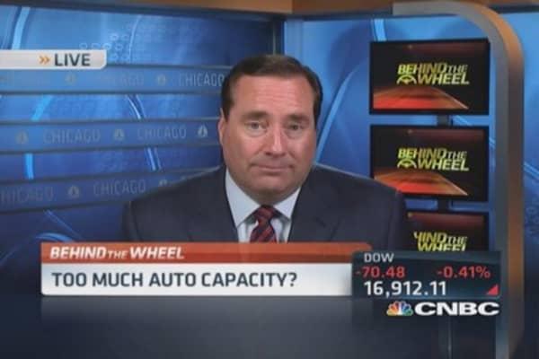 Auto sales top?