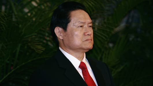 Zhou Yongkang, China's former security chief.
