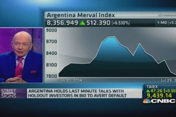 Why is Argentina still seeing a bull market?