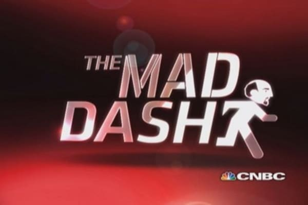 Cramer's Mad Dash: REGN breaks through