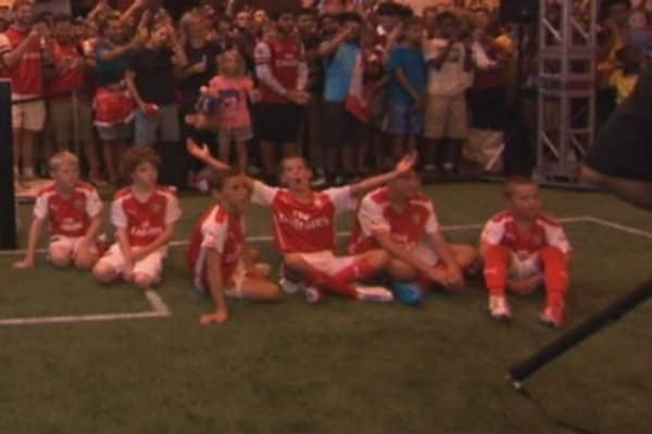 Puma and Arsenal team up