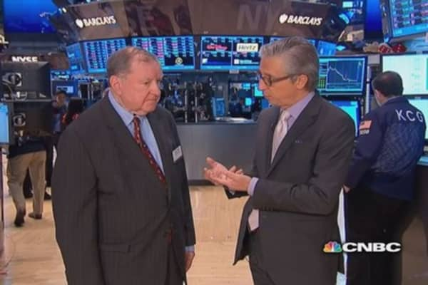 Cashin says real 'divergence' in the market