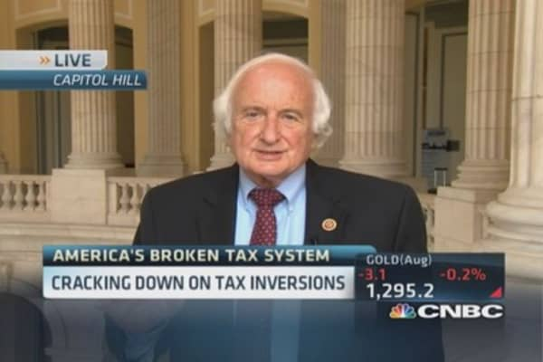 Rep. Sander Levin: Companies abusing tax inversions