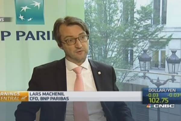 BNP Paribas CFO on 'regret' of $8.95B US fine
