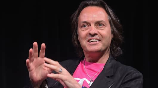 John Legere, CEO of T-Mobile.