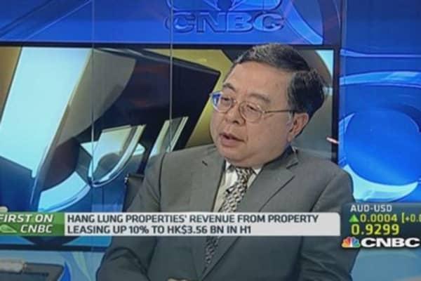 Hang Lung: Hong Kong property is improving