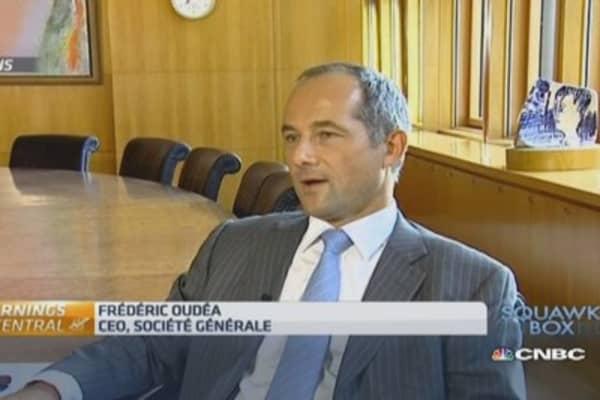 'Positive' about Société Générale momentum: CEO
