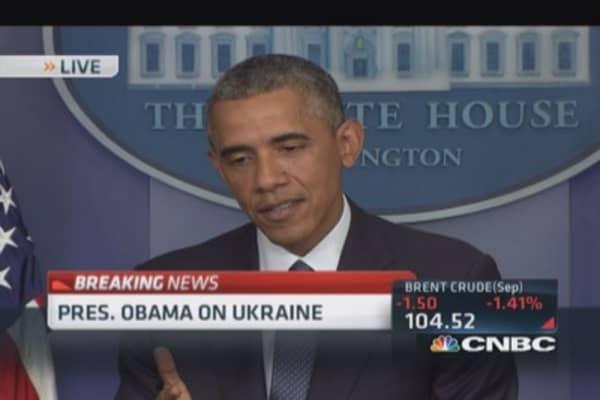 President Obama: Made progress in Ukraine