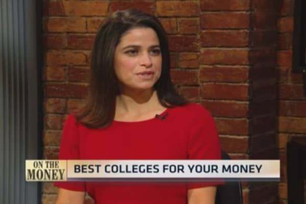 Most valuable school: Best college for the price tag