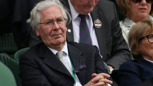 Sir Mervyn King, Former Governor of Bank of England.