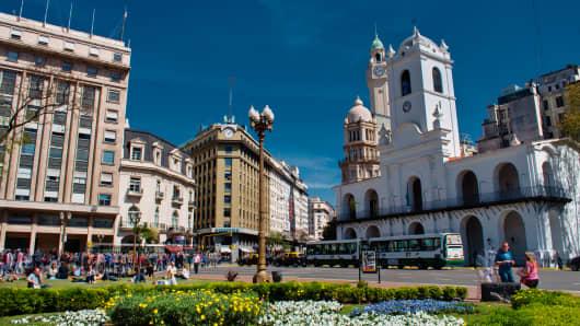 Buenos Aires: Plaza de Mayo