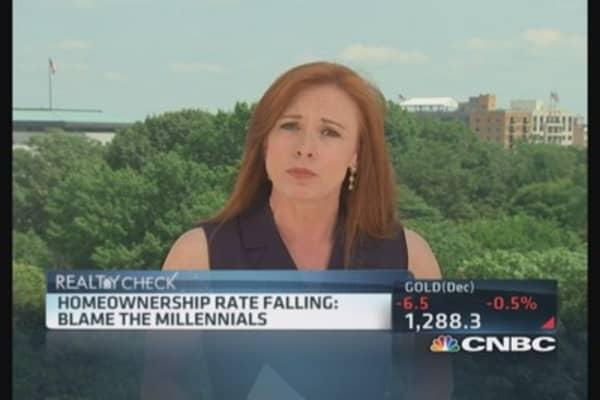 What's behind homeownership drop